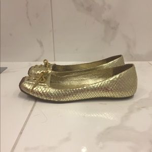 Kors By Micheal Kors | Gold Ballet Shoes